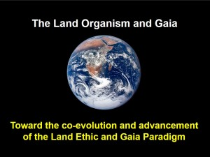 The Land Organism and Gaia