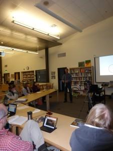Teacher workshop, Summit MS, 2014