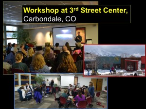 Workshop at 3rd st. center